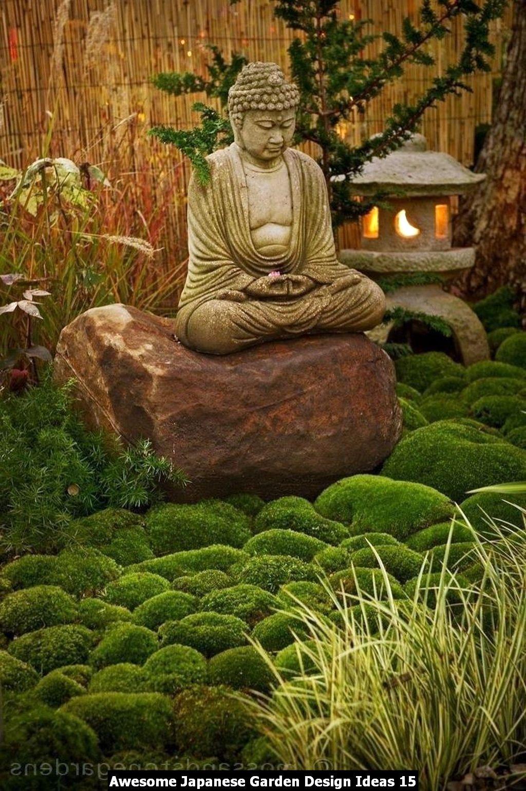 Awesome Japanese Garden Design Ideas 15