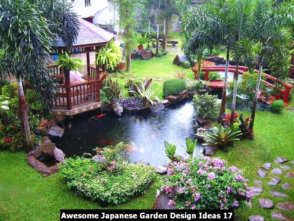 Awesome Japanese Garden Design Ideas 17