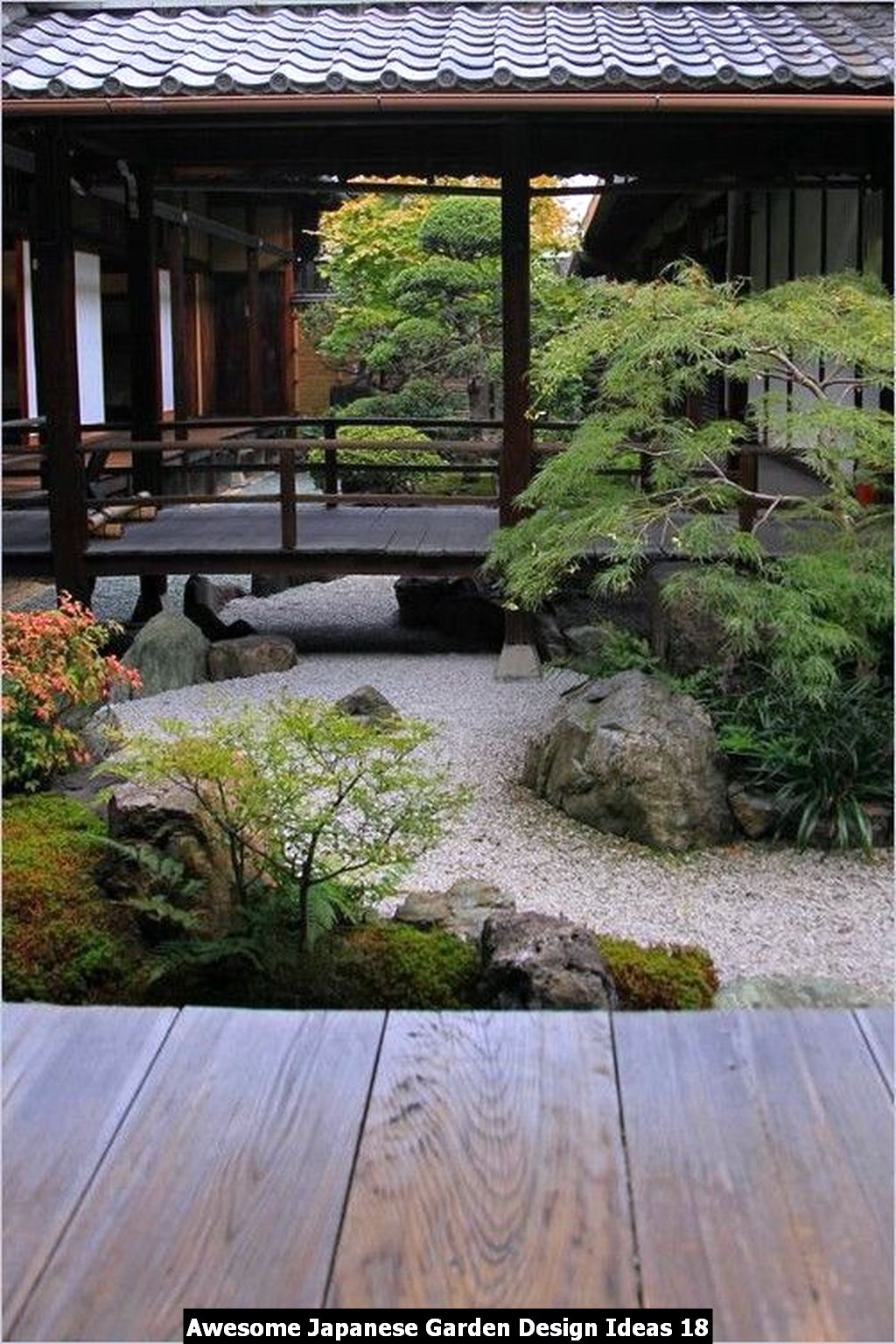 Awesome Japanese Garden Design Ideas 18