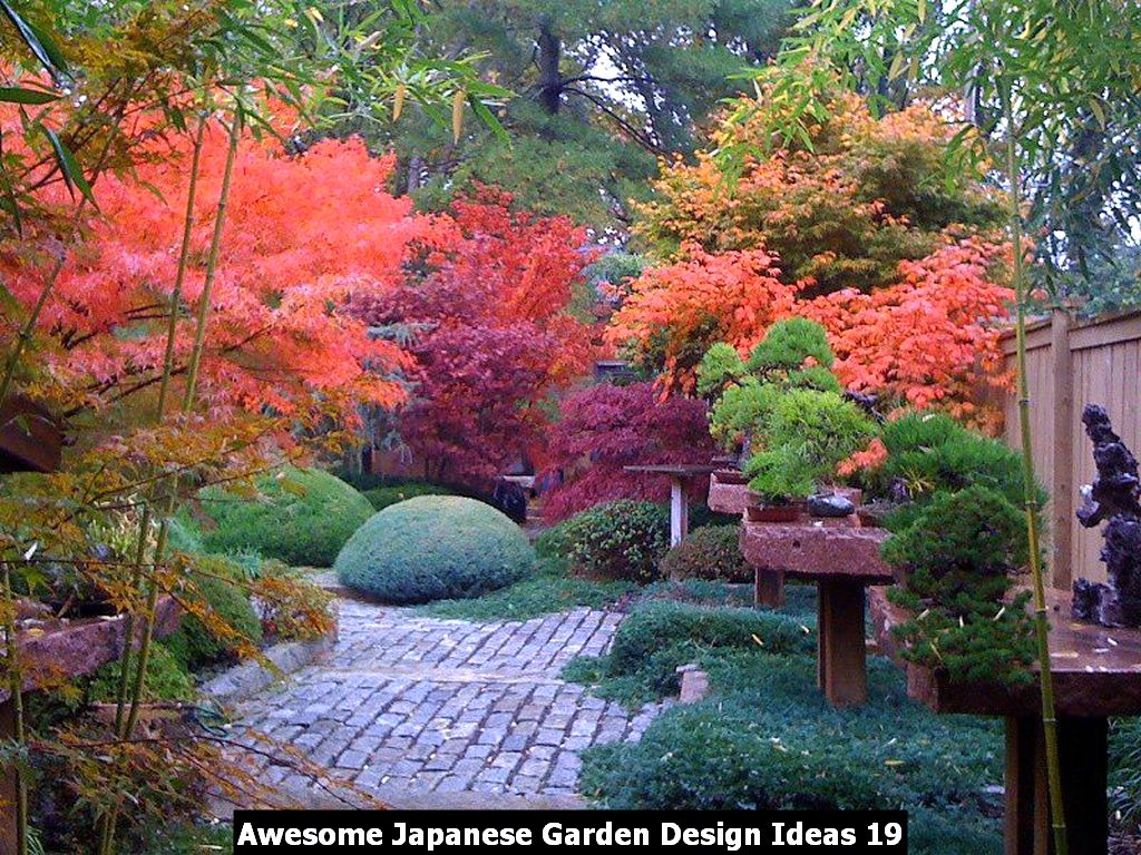 Awesome Japanese Garden Design Ideas 19