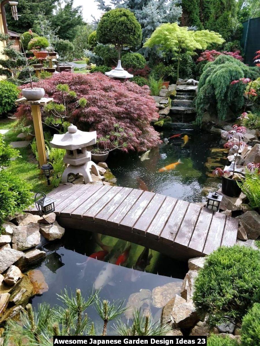 Awesome Japanese Garden Design Ideas 23