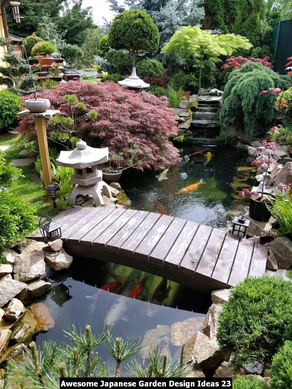 Awesome Japanese Garden Design Ideas 23