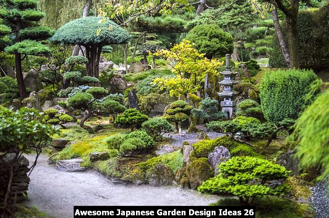Awesome Japanese Garden Design Ideas 26