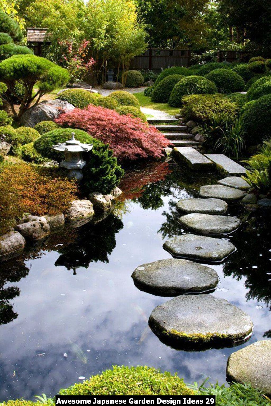 Awesome Japanese Garden Design Ideas 29