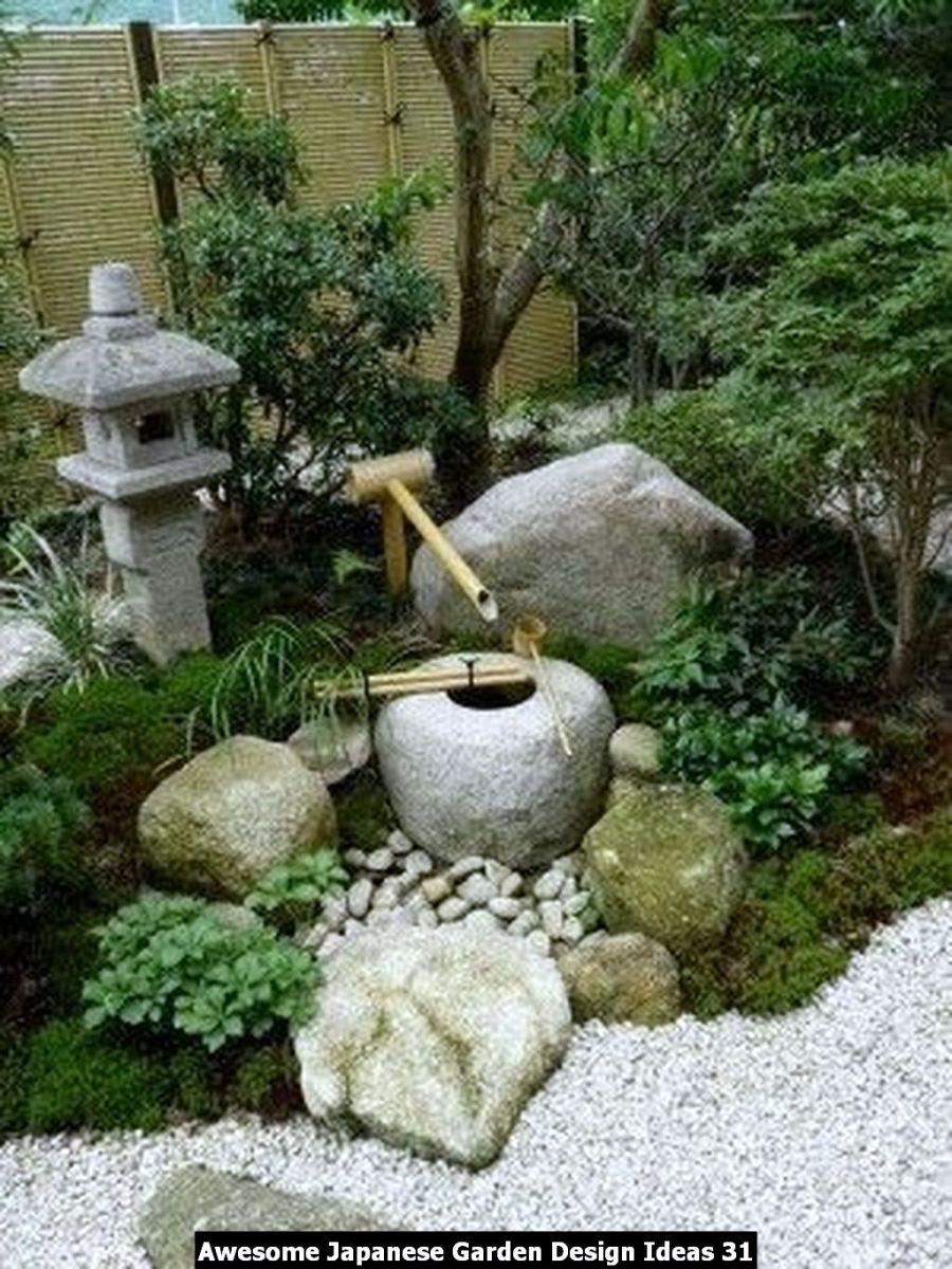 Awesome Japanese Garden Design Ideas 31