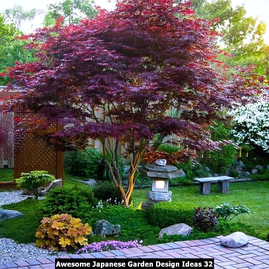 Awesome Japanese Garden Design Ideas 32