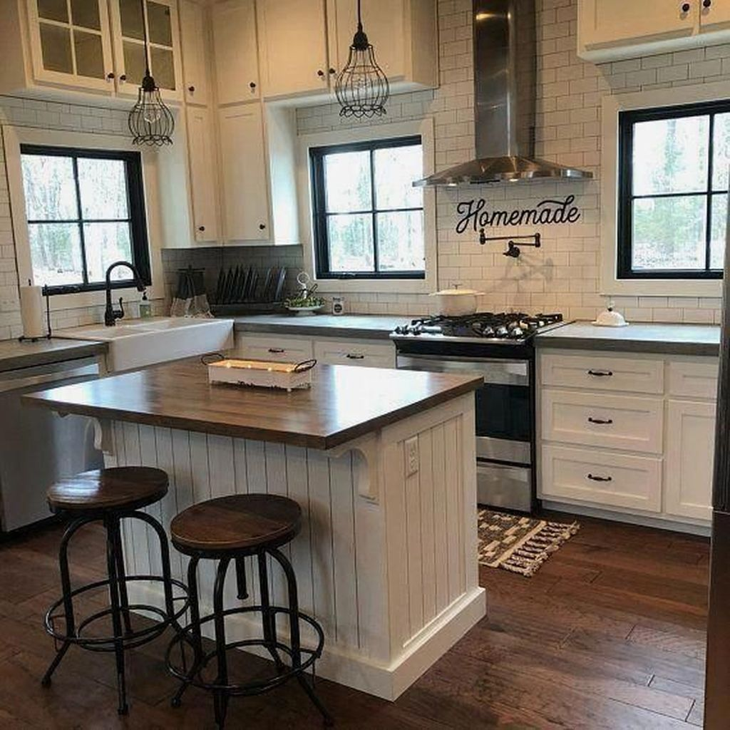 Awesome Rustic Kitchen Design Ideas 04
