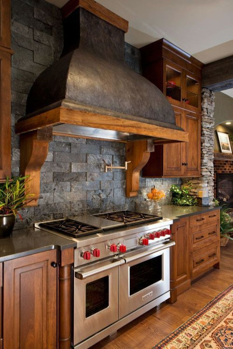 Awesome Rustic Kitchen Design Ideas 11