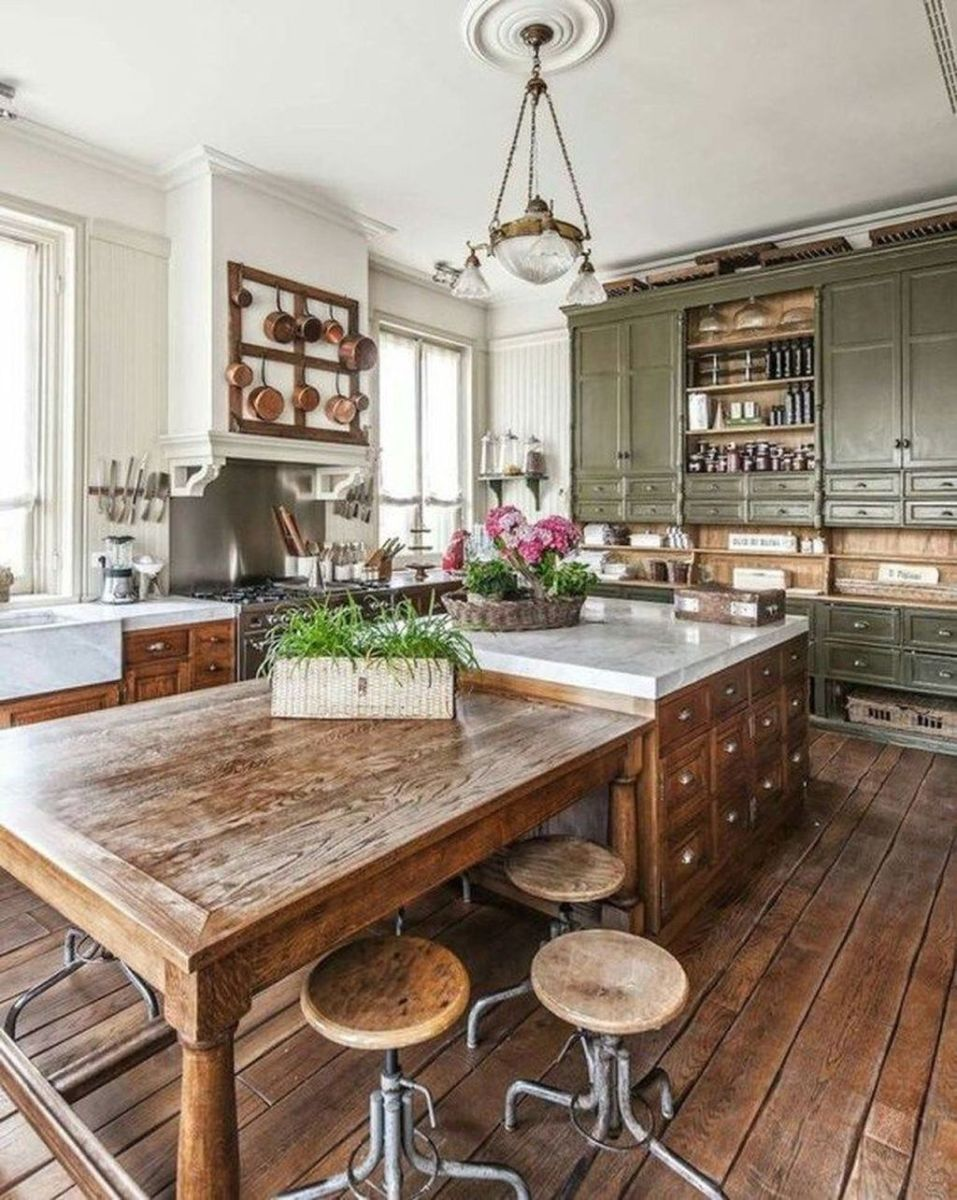 Awesome Rustic Kitchen Design Ideas 30
