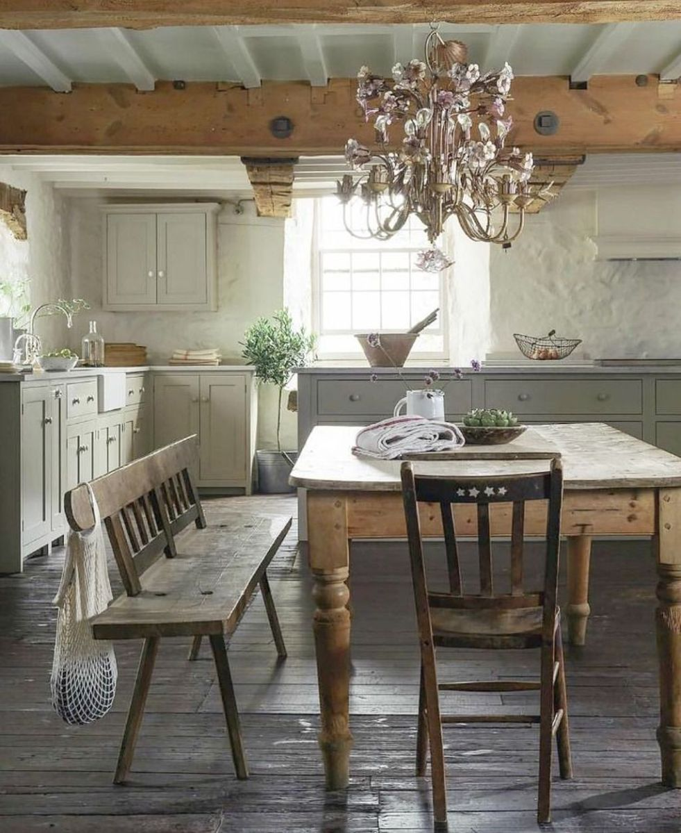 Awesome Rustic Kitchen Design Ideas 41