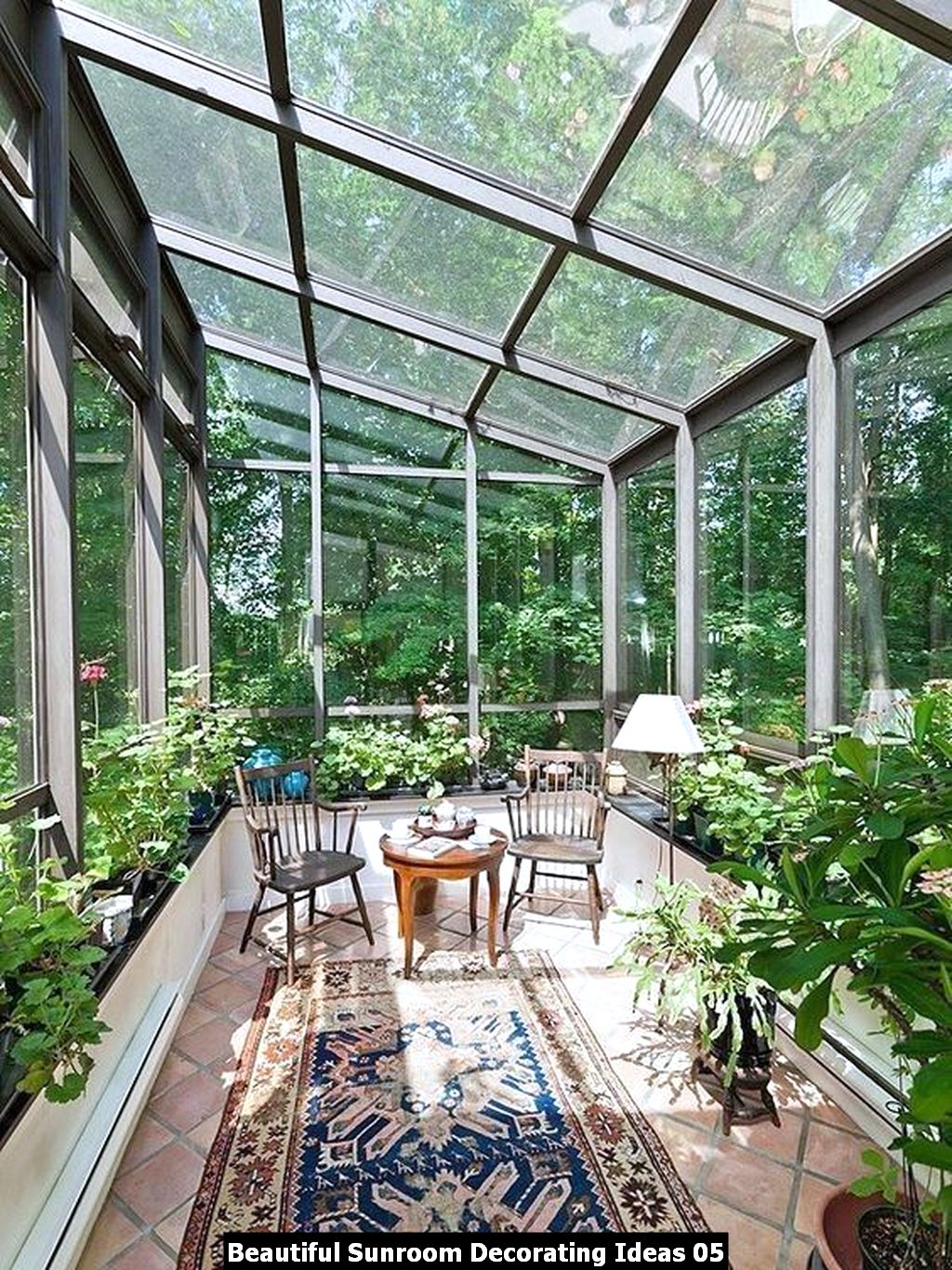 Beautiful Sunroom Decorating Ideas 05