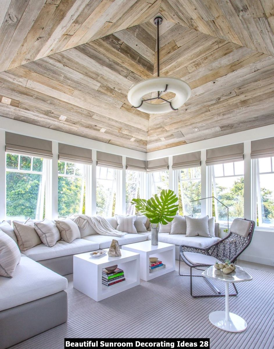 Beautiful Sunroom Decorating Ideas 28