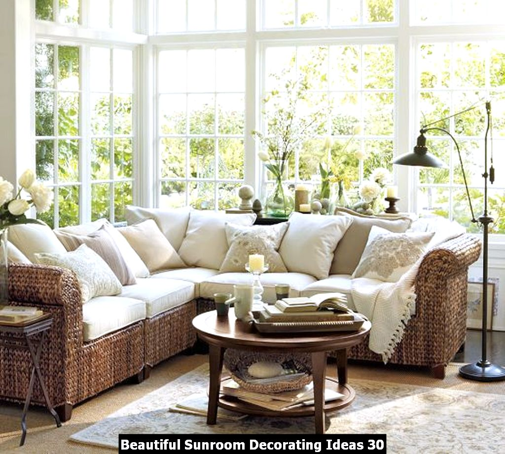 Beautiful Sunroom Decorating Ideas 30