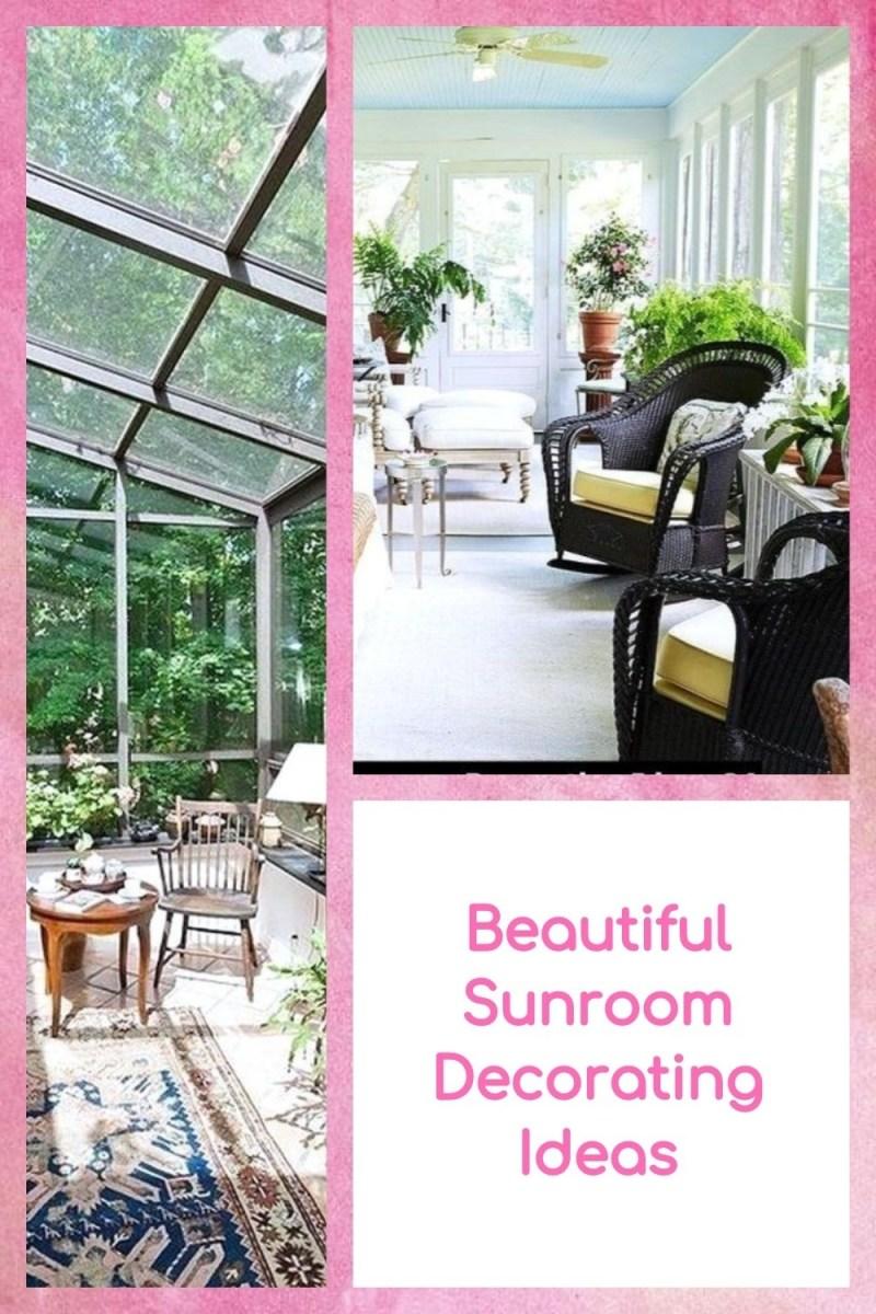 Beautiful Sunroom Decorating Ideas