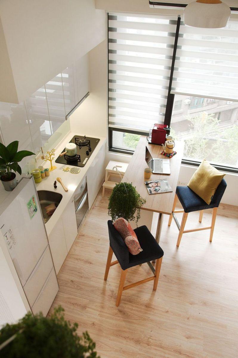 Brilliant Tiny Apartment Decorating Ideas You Should Copy 17