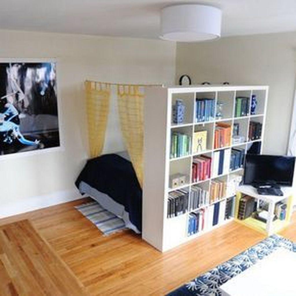 Brilliant Tiny Apartment Decorating Ideas You Should Copy 20
