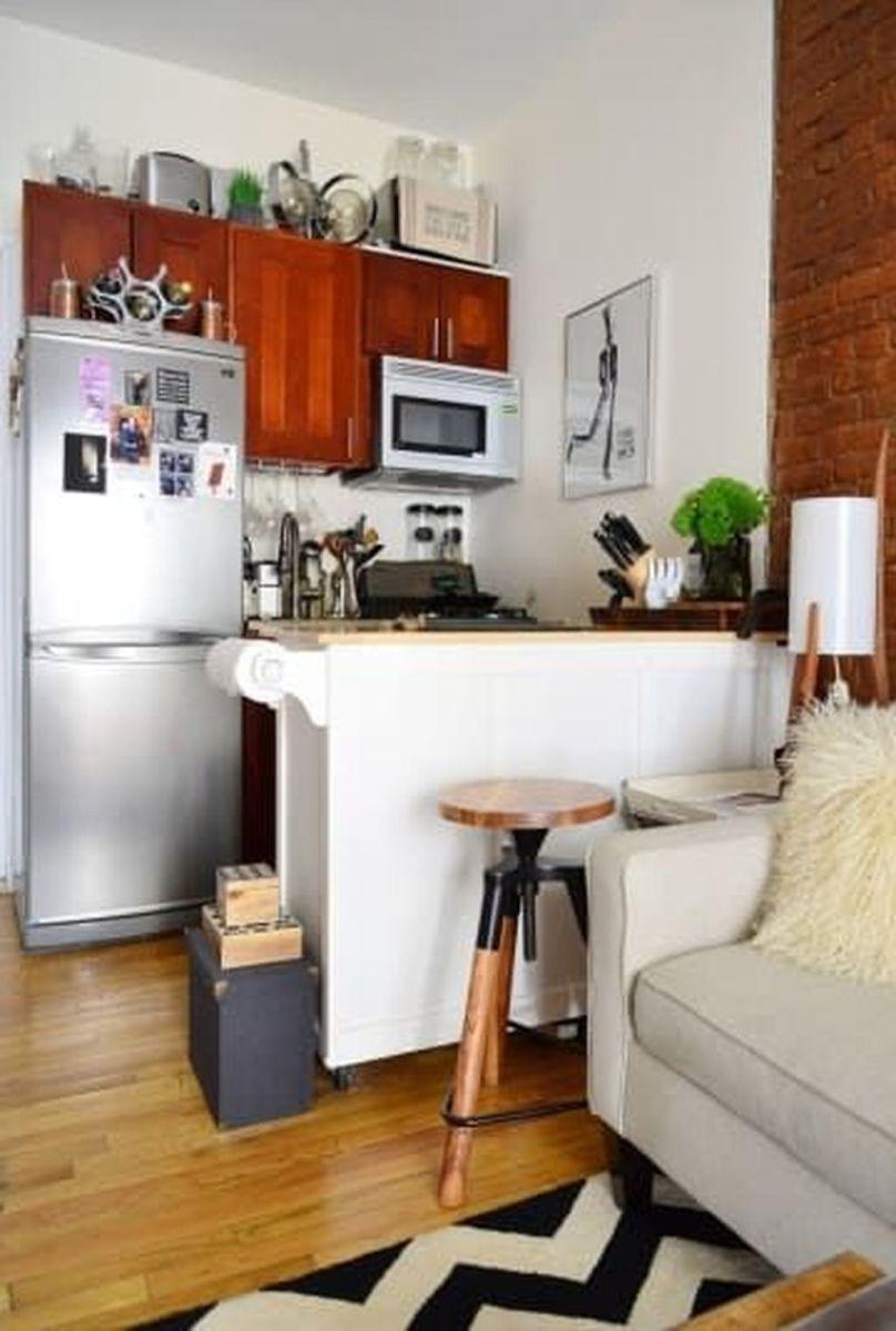 Brilliant Tiny Apartment Decorating Ideas You Should Copy 21