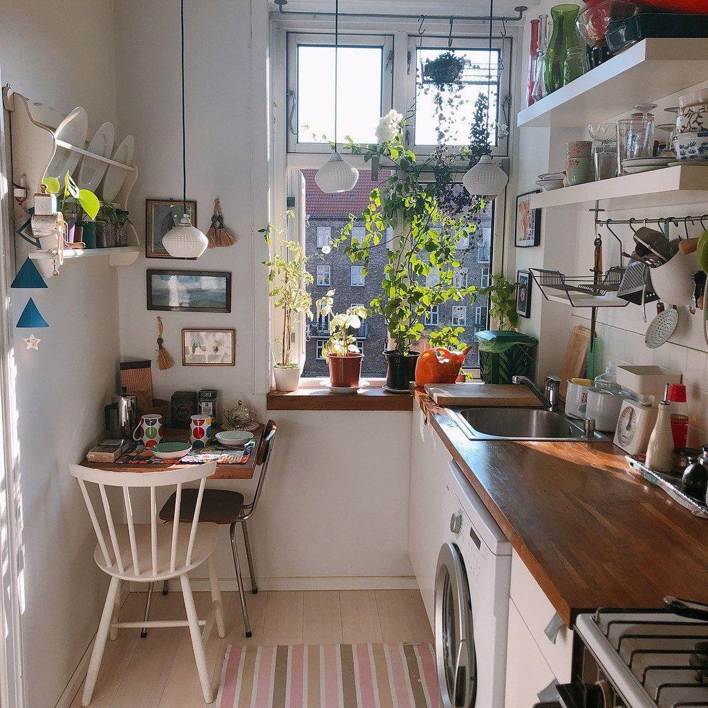 Brilliant Tiny Apartment Decorating Ideas You Should Copy 34