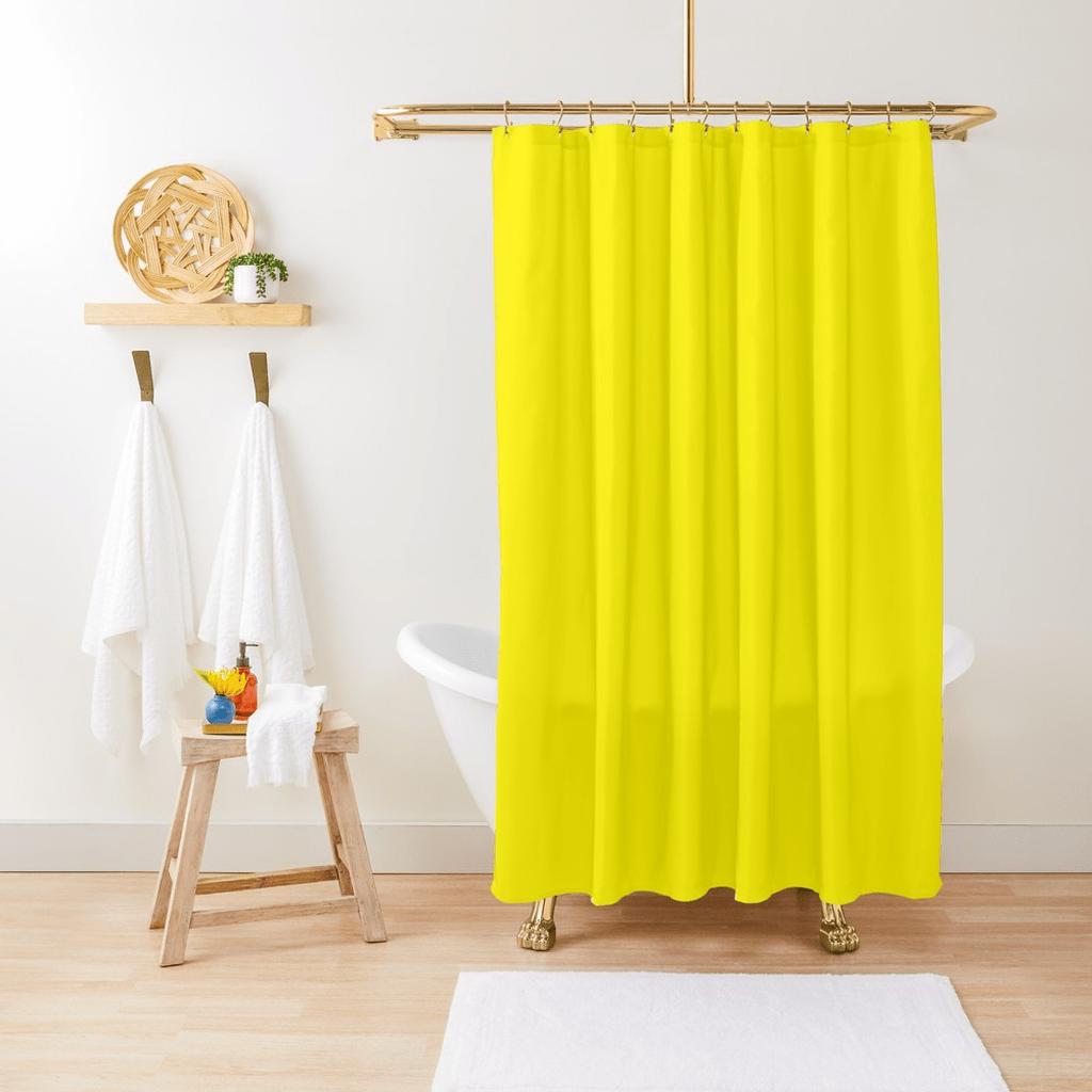 Creative Sunny Yellow Bathroom Decor For Summer 03