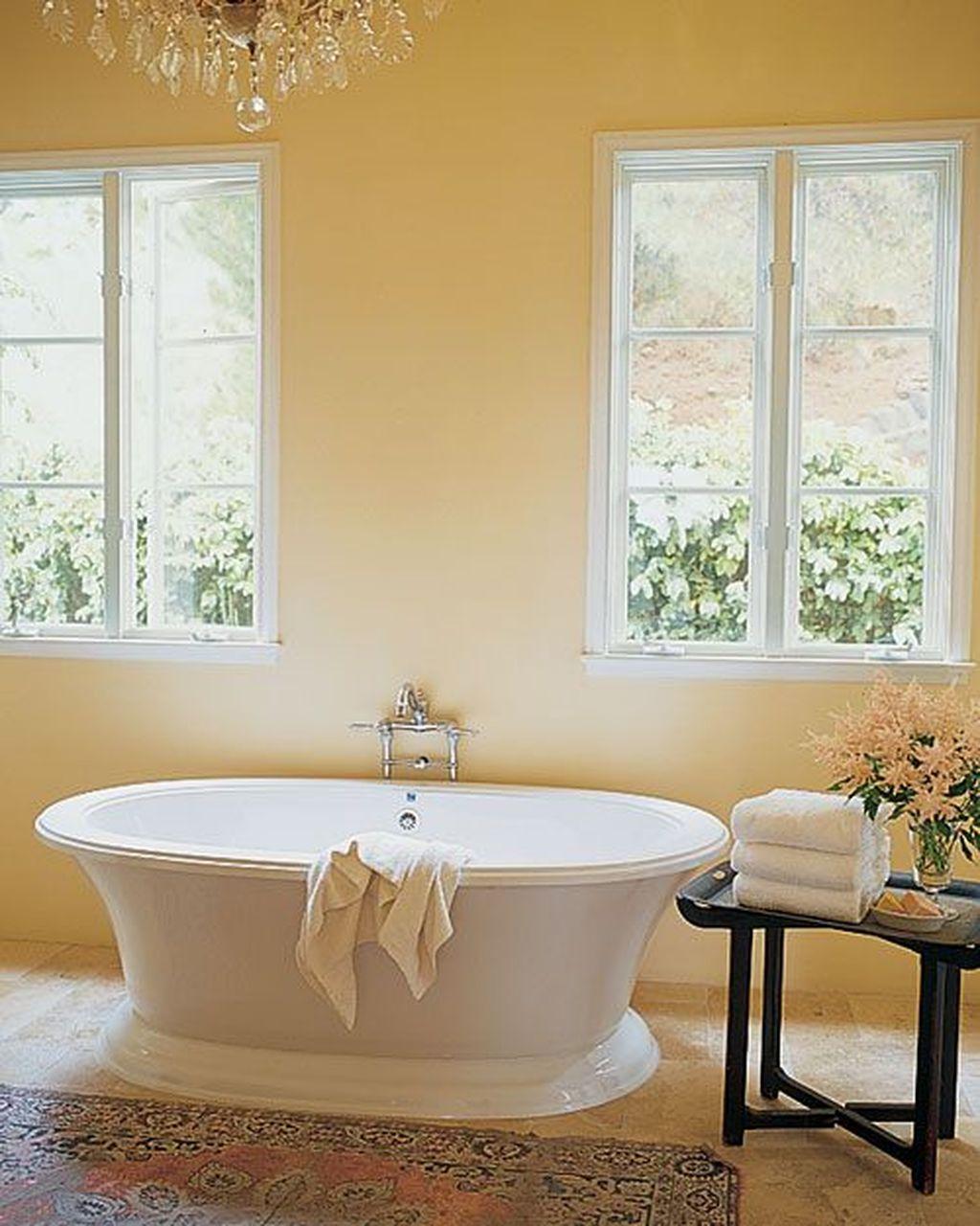 Creative Sunny Yellow Bathroom Decor For Summer 21