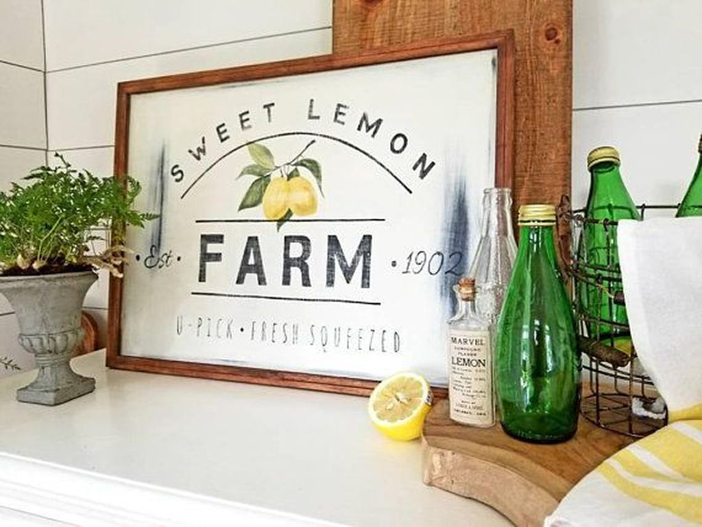 Fabulous Summer Farmhouse Decor Ideas You Will Love 02