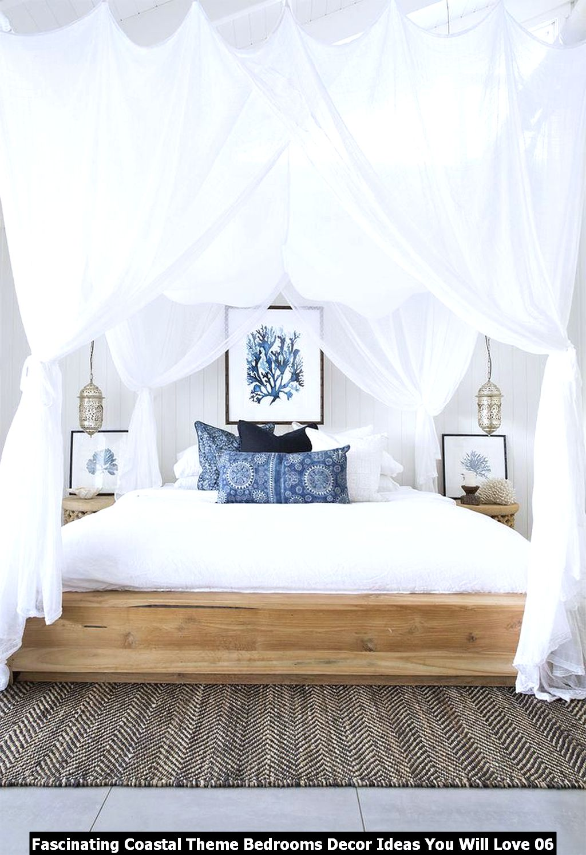 Fascinating Coastal Theme Bedrooms Decor Ideas You Will Love 06