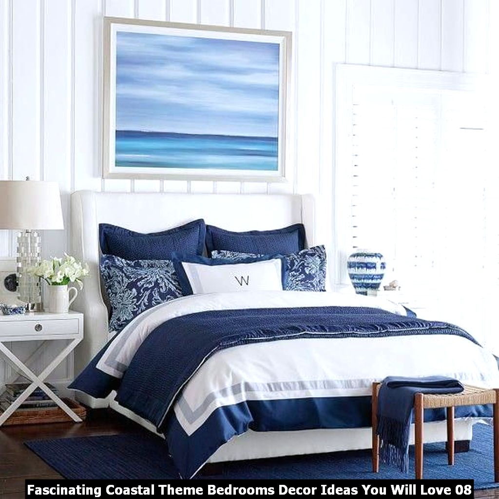 Fascinating Coastal Theme Bedrooms Decor Ideas You Will Love 08