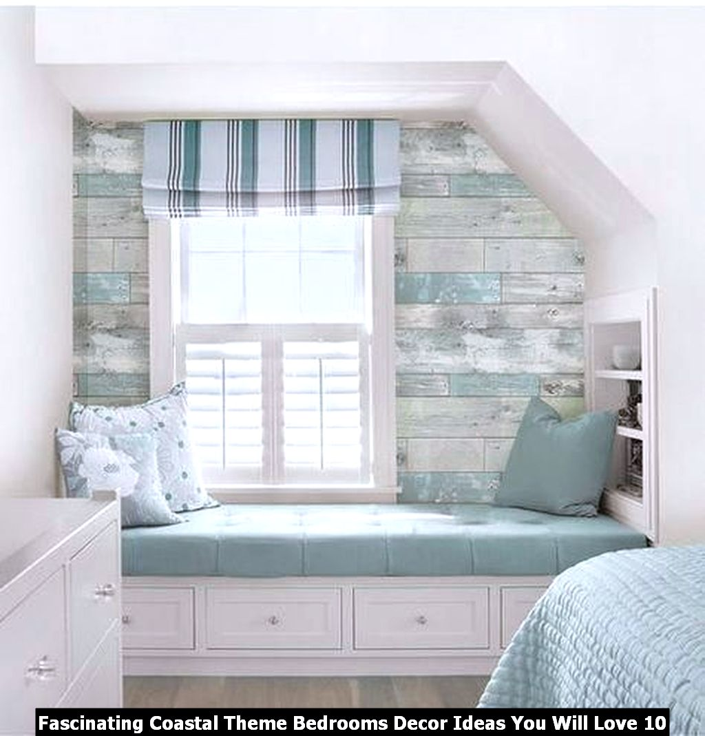 Fascinating Coastal Theme Bedrooms Decor Ideas You Will Love 10