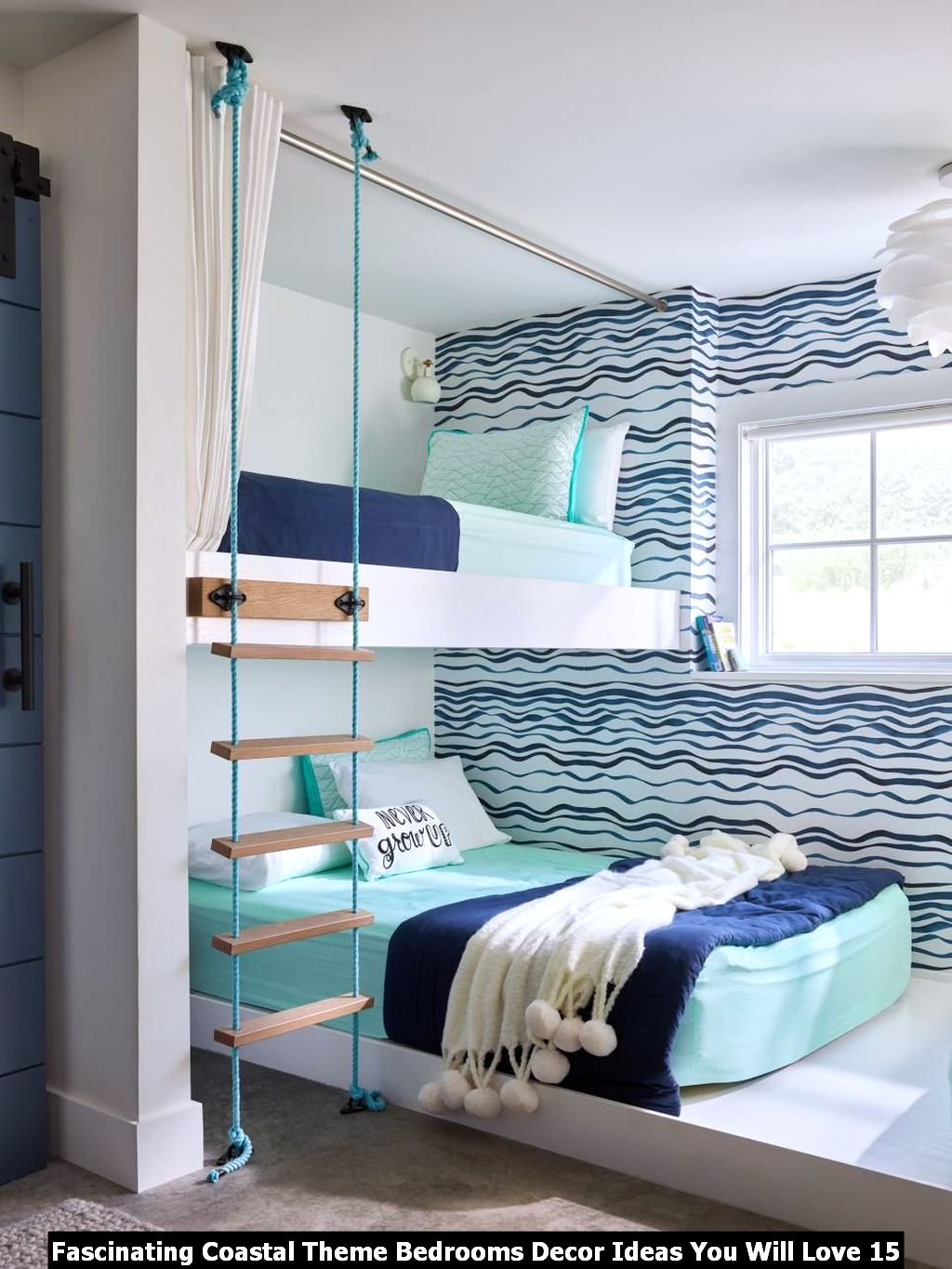 Fascinating Coastal Theme Bedrooms Decor Ideas You Will Love 15
