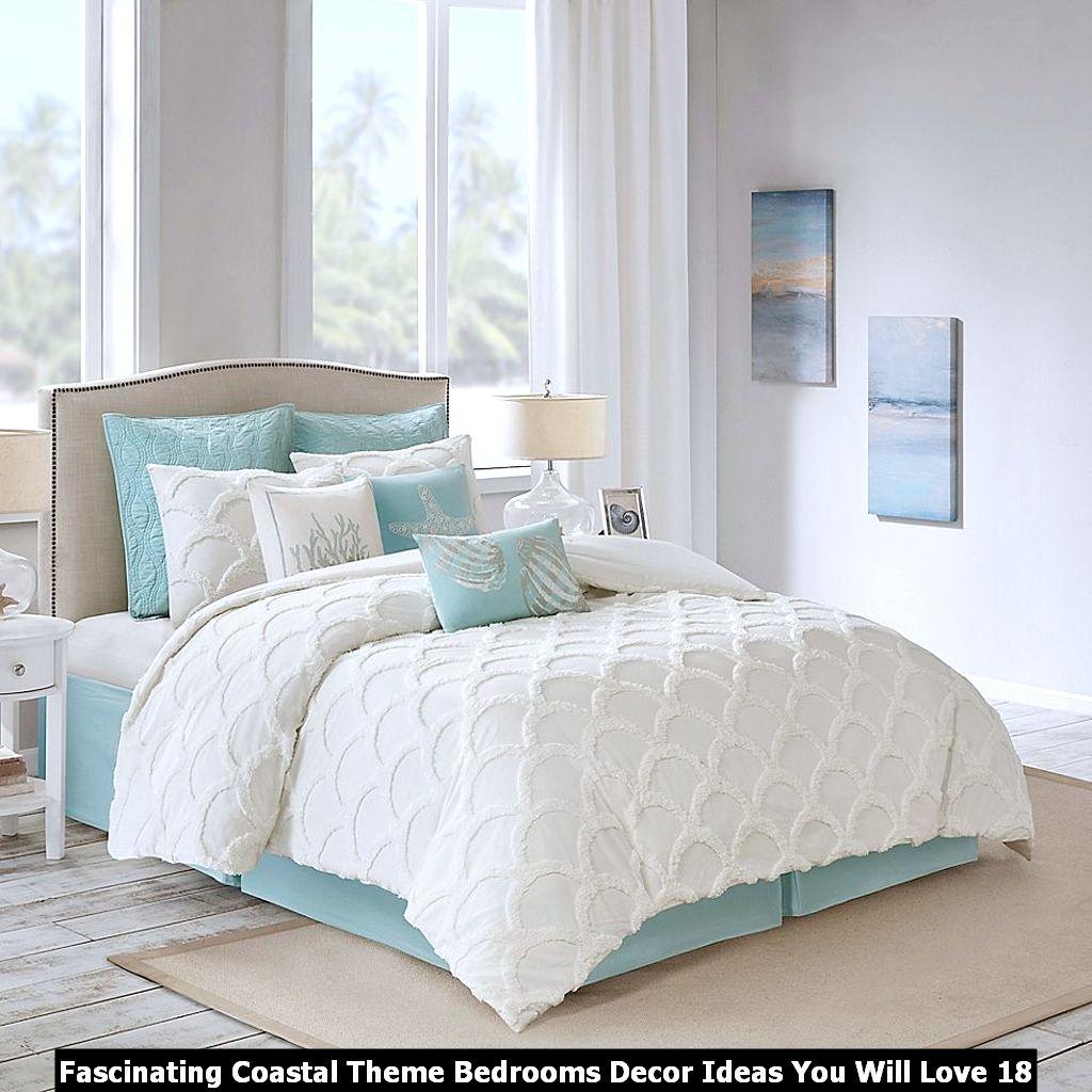 Fascinating Coastal Theme Bedrooms Decor Ideas You Will Love 18