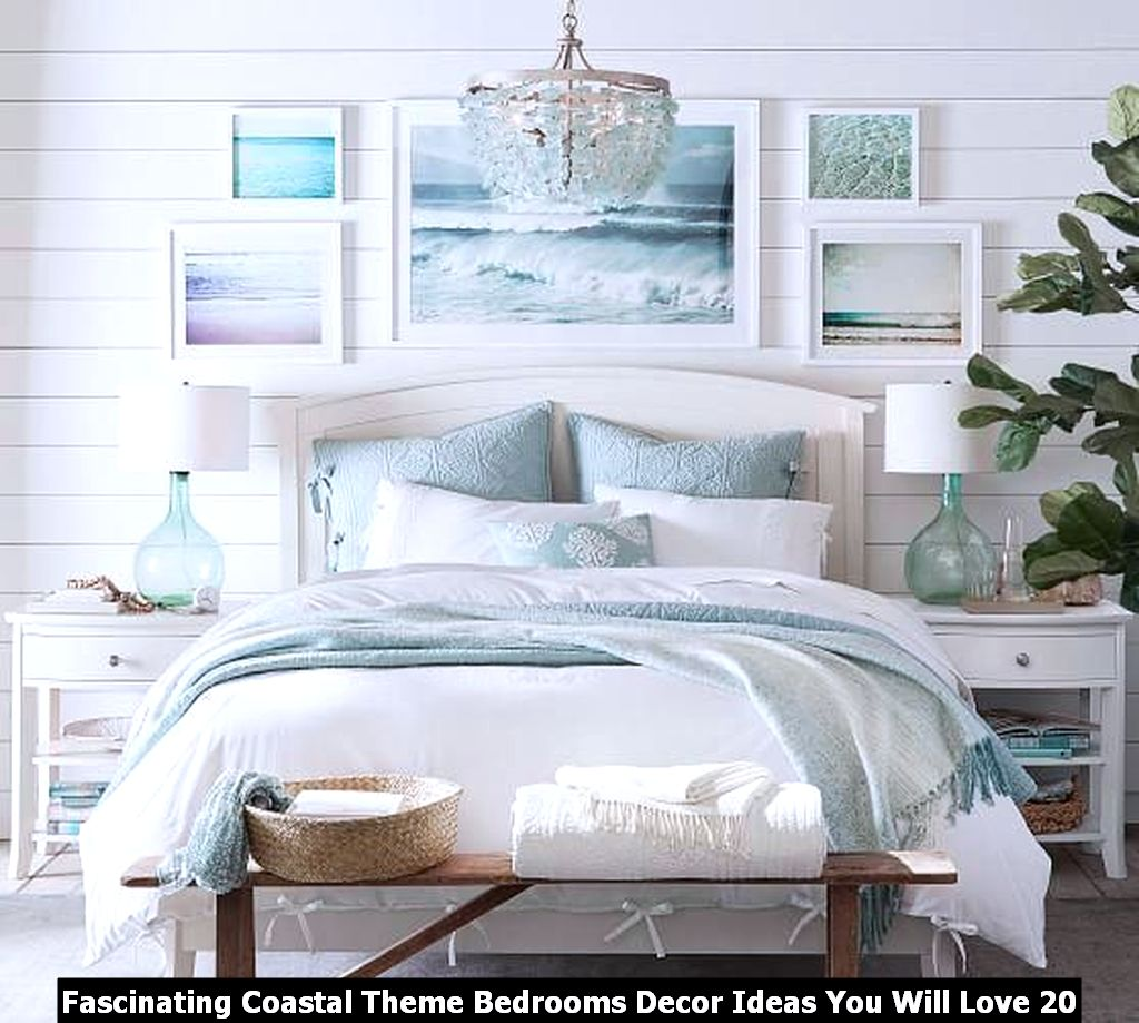 Fascinating Coastal Theme Bedrooms Decor Ideas You Will Love 20