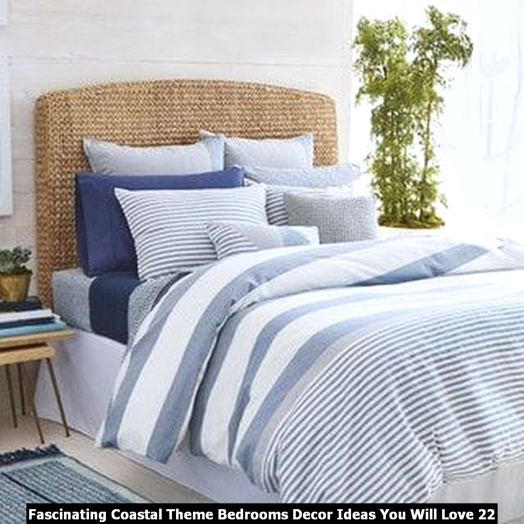 Fascinating Coastal Theme Bedrooms Decor Ideas You Will Love 22
