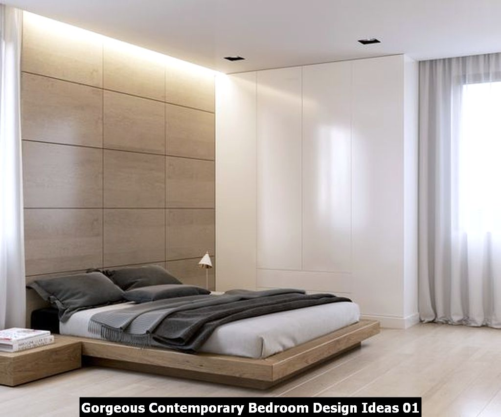 Gorgeous Contemporary Bedroom Design Ideas 01