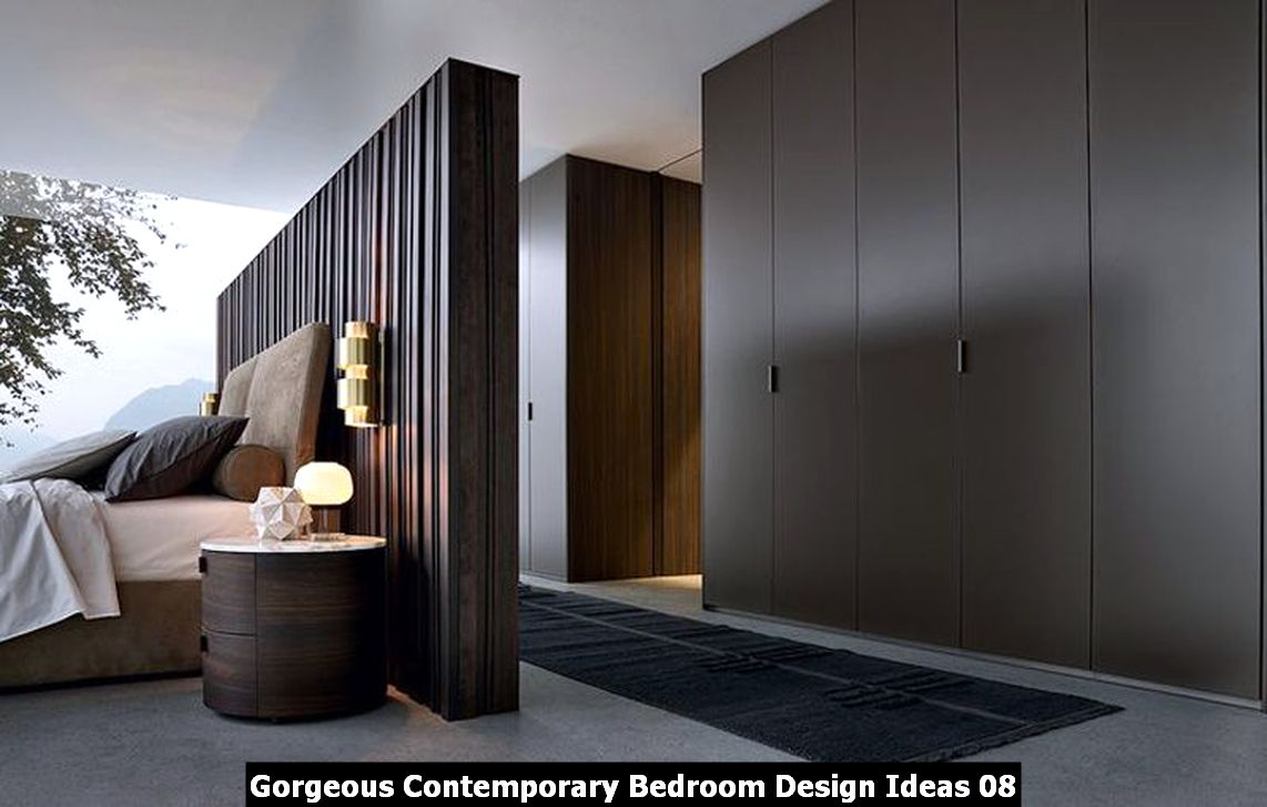 Gorgeous Contemporary Bedroom Design Ideas 08