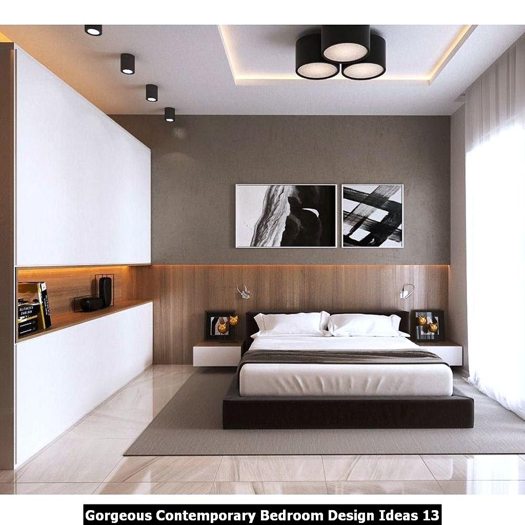 Gorgeous Contemporary Bedroom Design Ideas 13