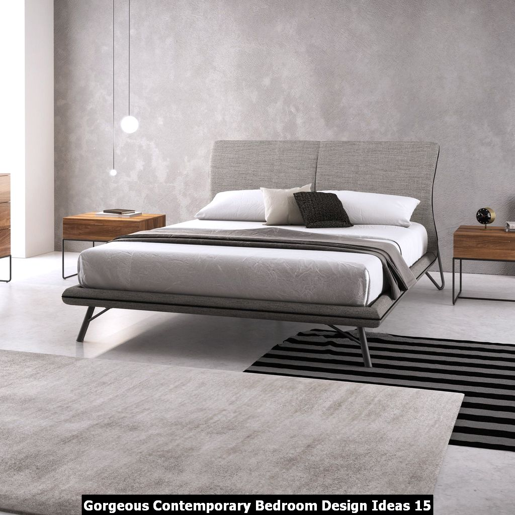 Gorgeous Contemporary Bedroom Design Ideas 15