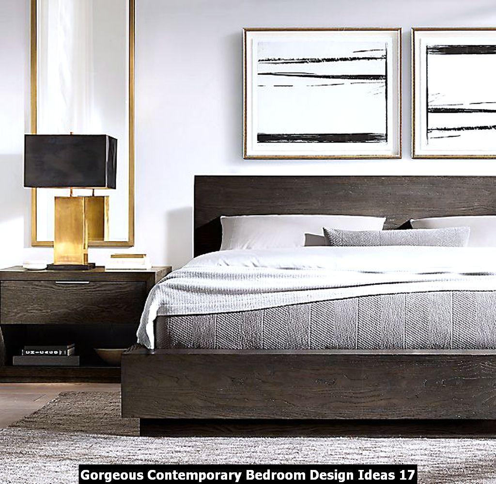 Gorgeous Contemporary Bedroom Design Ideas 17