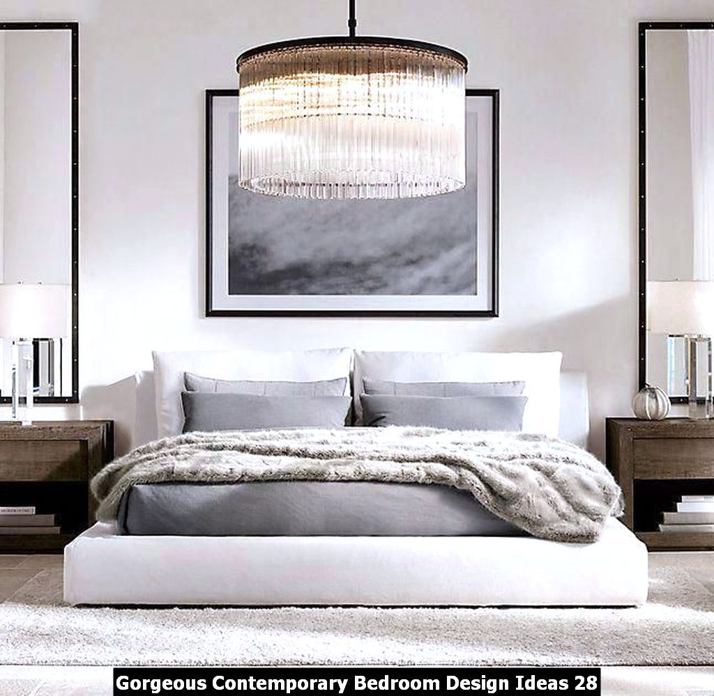 Gorgeous Contemporary Bedroom Design Ideas 28