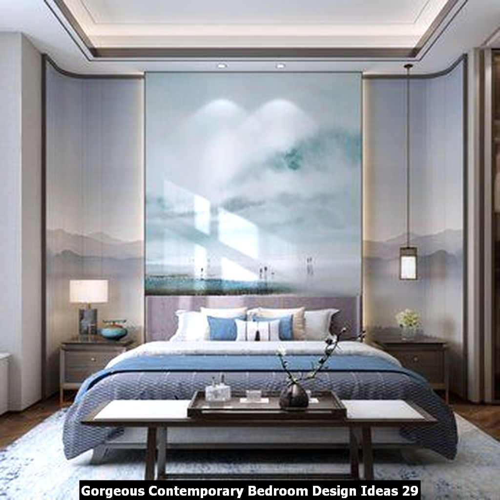 Gorgeous Contemporary Bedroom Design Ideas 29