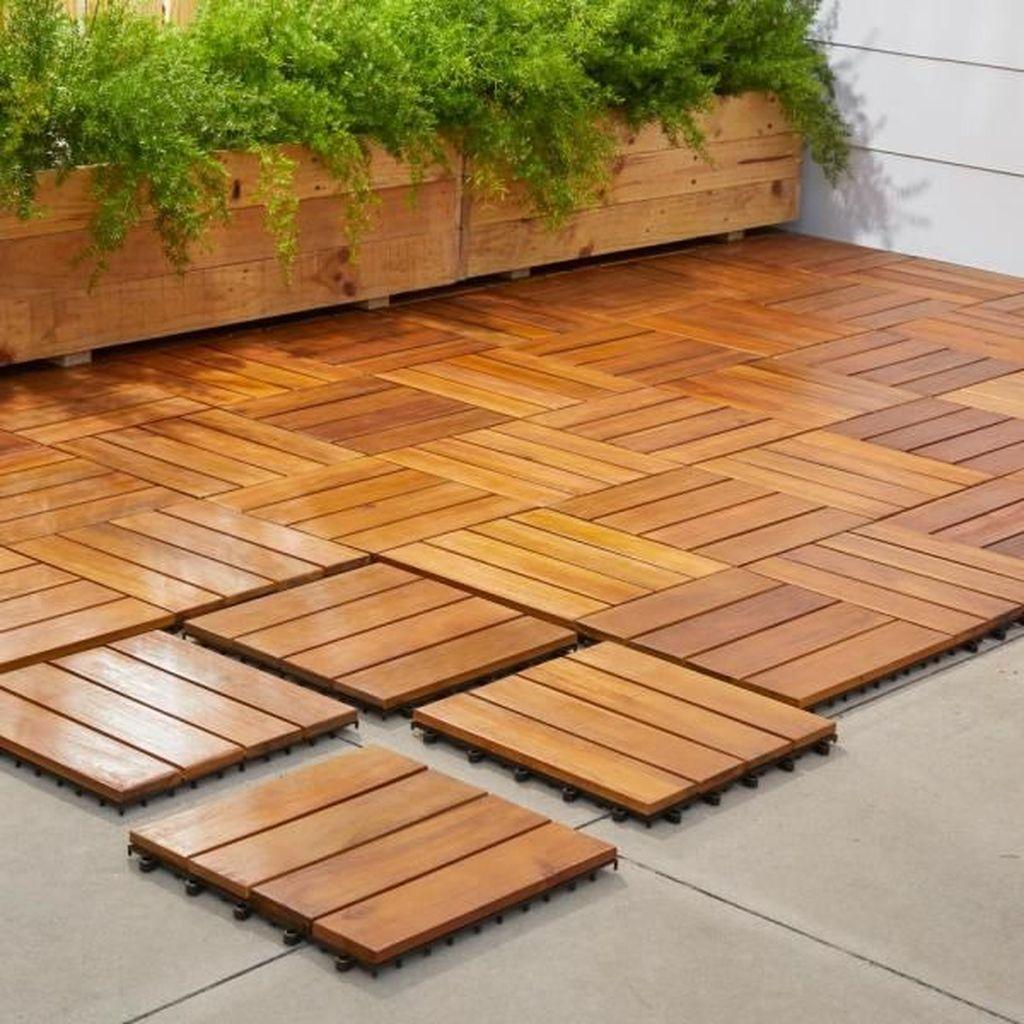 Inspiring Wooden Deck Patio Design Ideas For Your Outdoor Decor 20