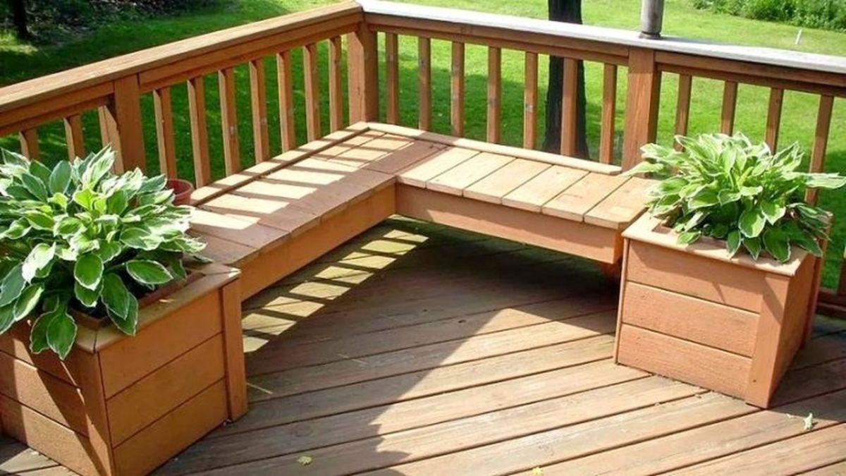 Inspiring Wooden Deck Patio Design Ideas For Your Outdoor Decor 32