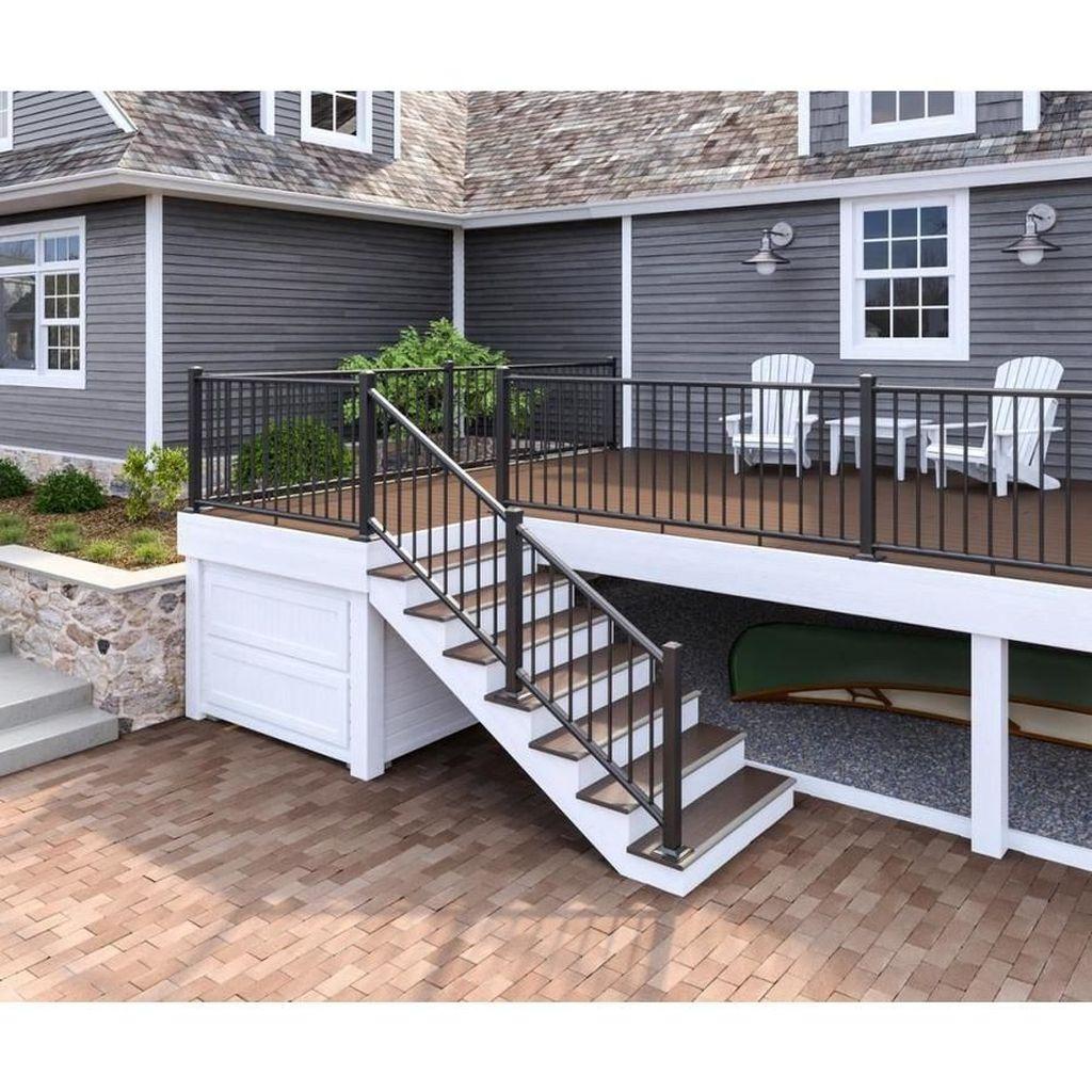 Inspiring Wooden Deck Patio Design Ideas For Your Outdoor Decor 35