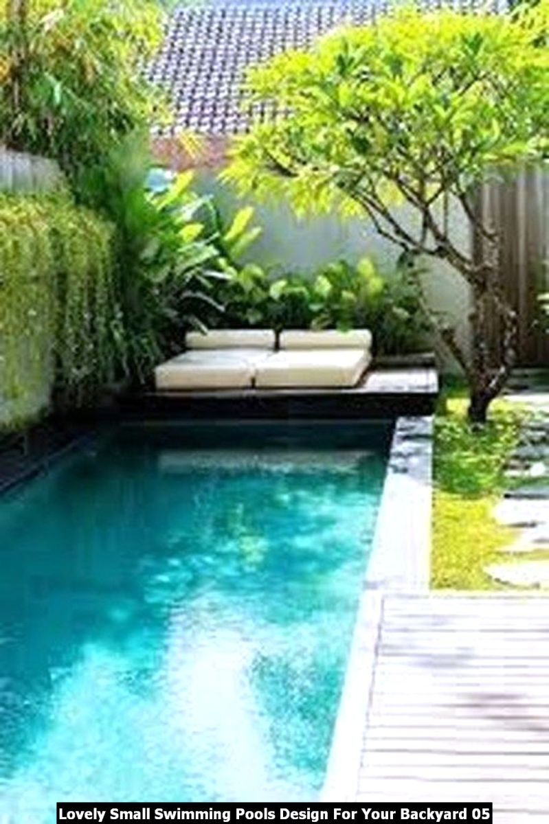 Lovely Small Swimming Pools Design For Your Backyard 05
