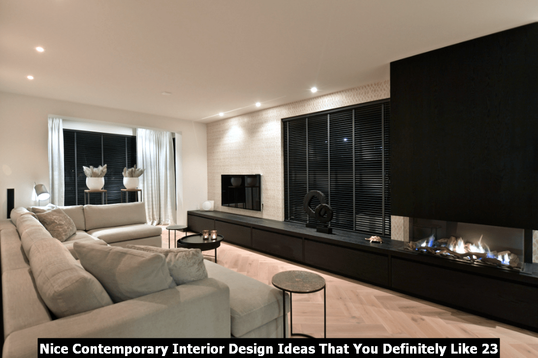Nice Contemporary Interior Design Ideas That You Definitely Like 23