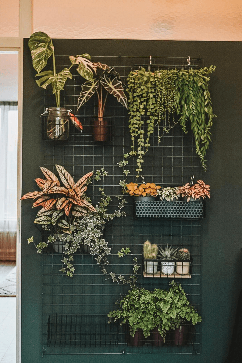 Nice Vertical Garden Wall Decor Ideas Look Beautiful 24