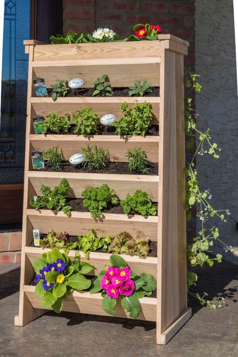 Nice Vertical Garden Wall Decor Ideas Look Beautiful 35