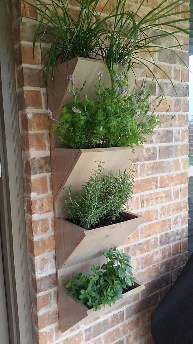 Nice Vertical Garden Wall Decor Ideas Look Beautiful 36