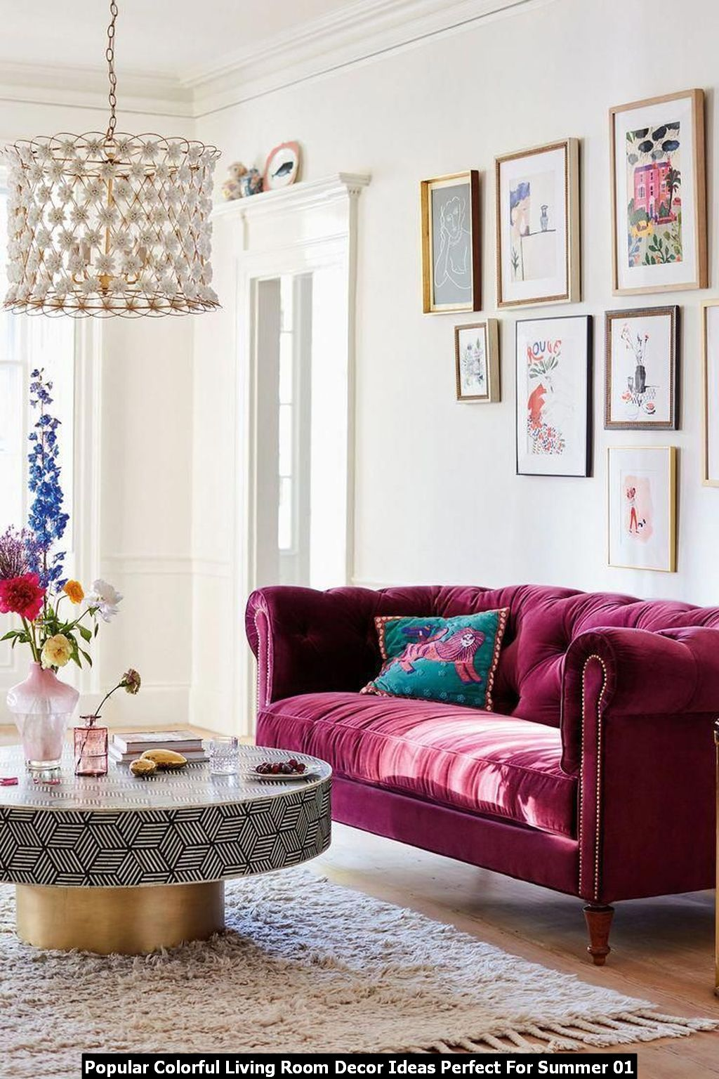 Popular Colorful Living Room Decor Ideas Perfect For Summer 01
