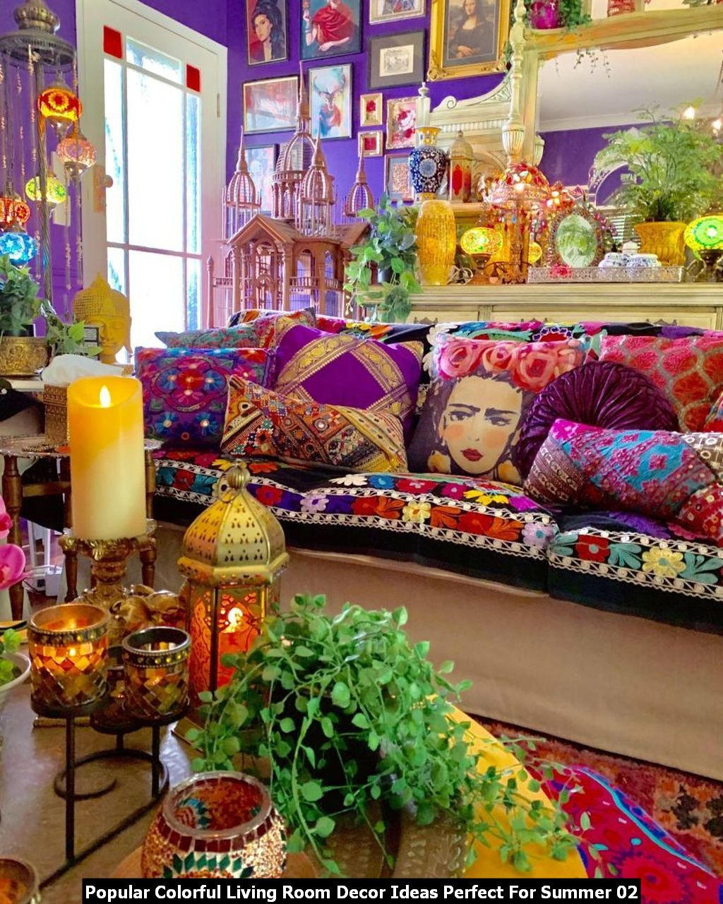 Popular Colorful Living Room Decor Ideas Perfect For Summer 02