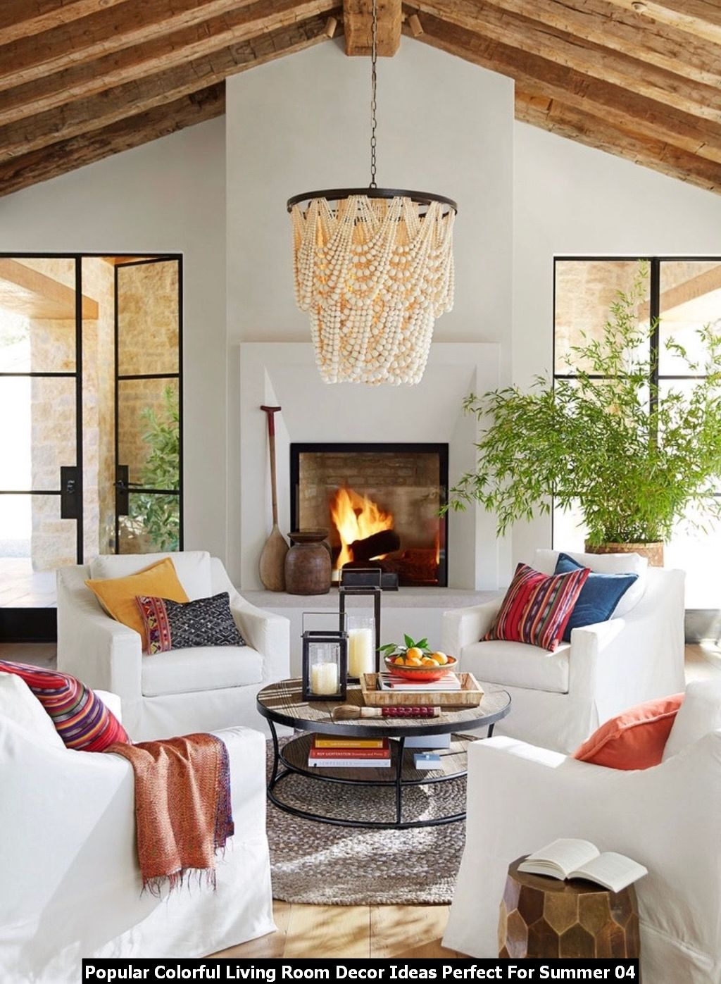 Popular Colorful Living Room Decor Ideas Perfect For Summer 04